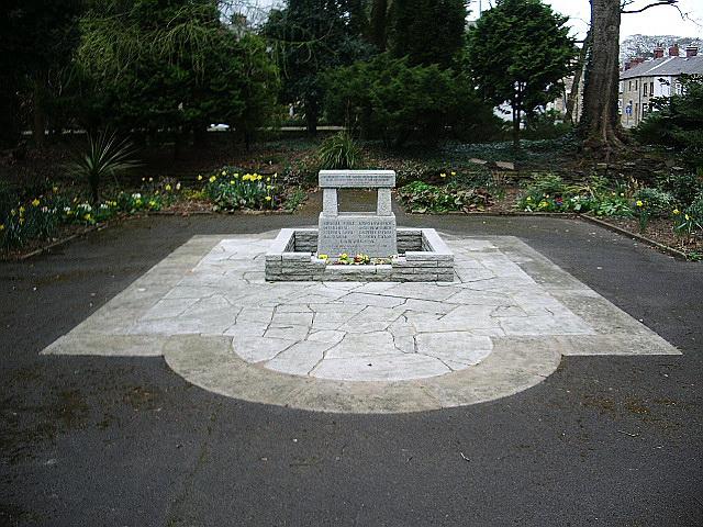 Memorial, Padiham Memorial Park