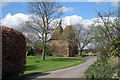 TQ7549 : Oast House at Redwall Farm, Redwall Lane, Linton, Kent by Oast House Archive