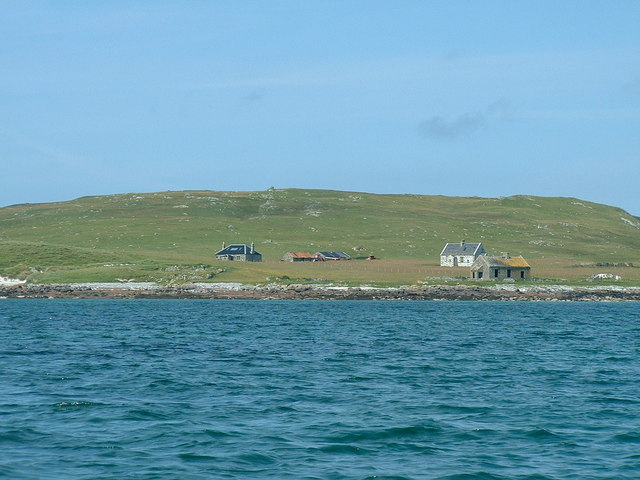 Boreray (North Uist) from the sea