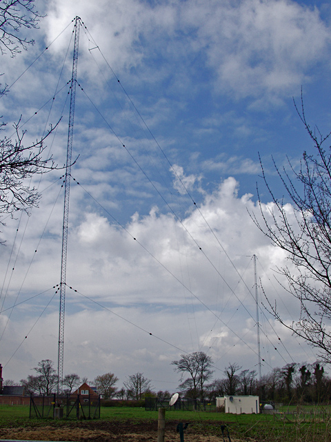 Paull radio masts