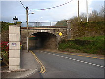 W7069 : Road Bridge at Church Road by Ian Paterson