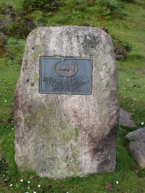 Robert McGregor Innes Ireland memorial