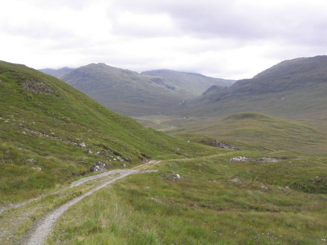 Track to Bendronaig