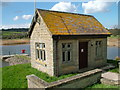 ST5559 : Waterworks building at Heron Green by David Brown