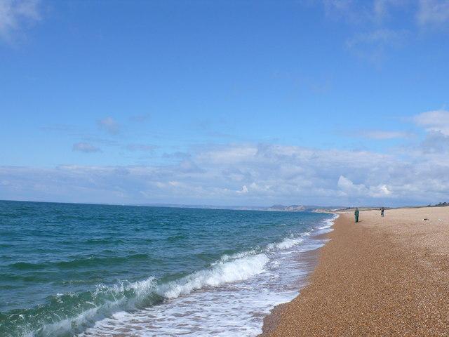 West Bexington Beach Summer
