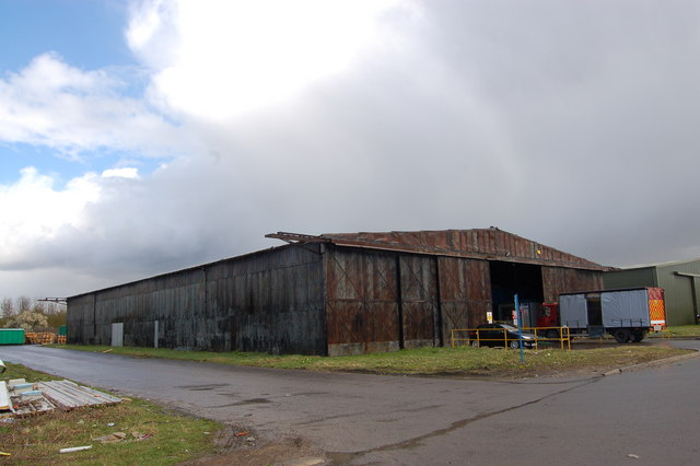 WW2 Bellman hangar at former RAF Stoke Orchard
