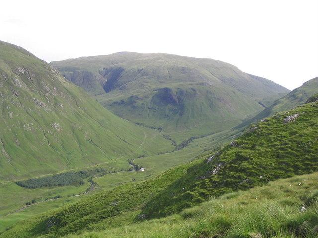 Srath Duilleach and Iron Lodge