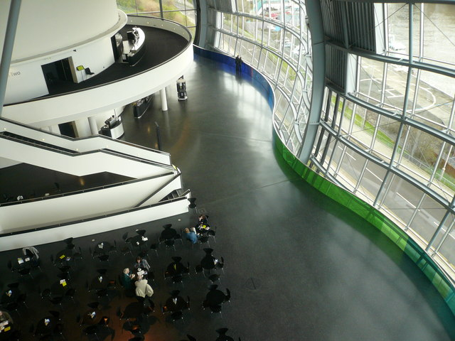 Gateshead Sage - Inside View