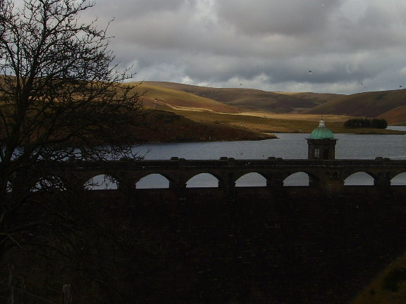 Craig Goch dam and reservoir
