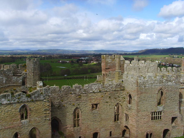 North Range of Ludlow Castle