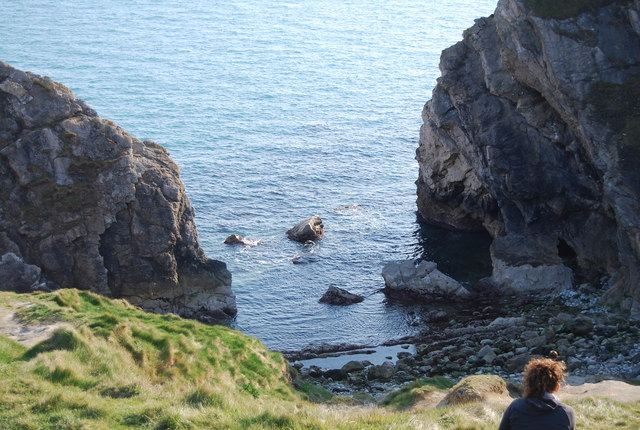 The entrance to Stair Hole