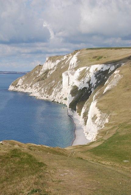 Cliffline west to White Nothe