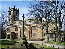 SD8432 : The Parish Church of St Peter, Burnley by