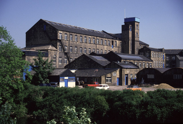 Ledgard Bridge Mills, Mirfield
