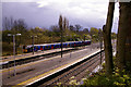 TQ2794 : Train leaving Oakleigh Park Station, London N20 by Christine Matthews