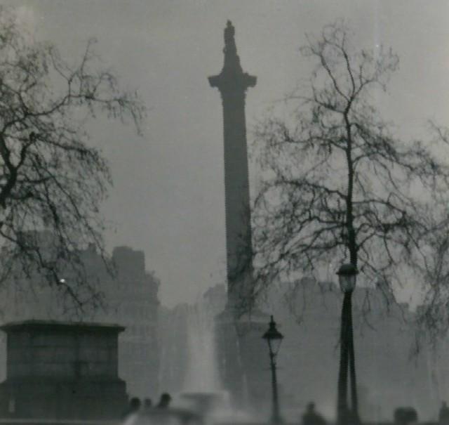 Nelson's Column in December.