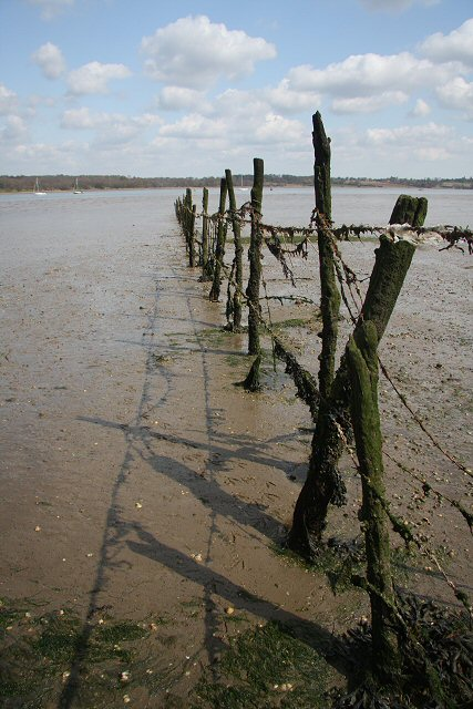 River Orwell fence