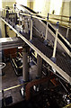 SZ6799 : Eastney Pumping Station, beam engine by Chris Allen