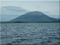 G1008 : Nephin Mountain from Lough Conn by Tony Steed