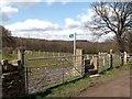 SE2804 : Footpath to Nor Royd Wood by John Fielding