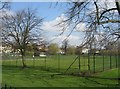 TL4459 : Bowling Green on Jesus Green by Scriniary