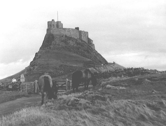 Lindisfarne Castle.