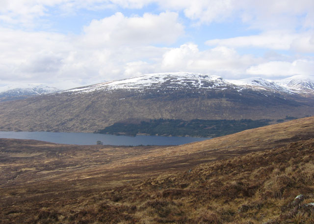 Moorland above Loch Ossian