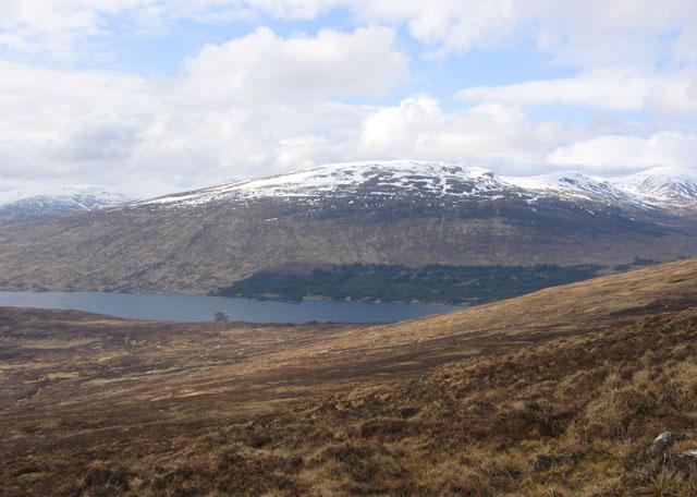 Moorland above Loch Ossian