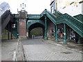 NS5766 : Kelvinbridge footbridges by Thomas Nugent