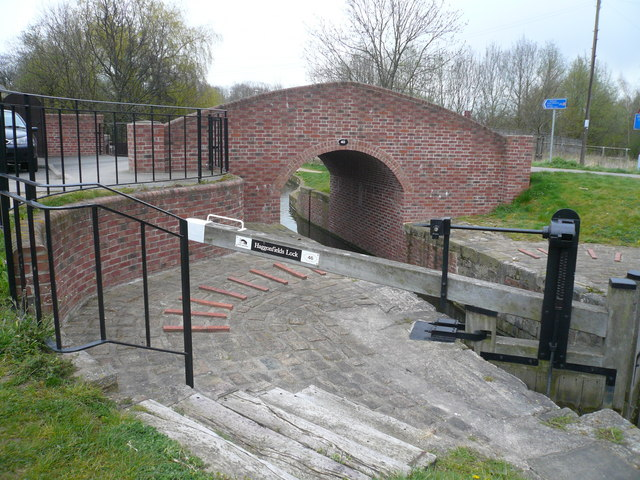 Chesterfield Canal - Haggonfields Lock No 46