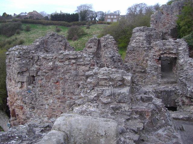 Berwick Castle (ruins)