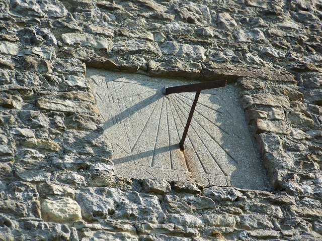 Sundial, St James the Great, West Hanney