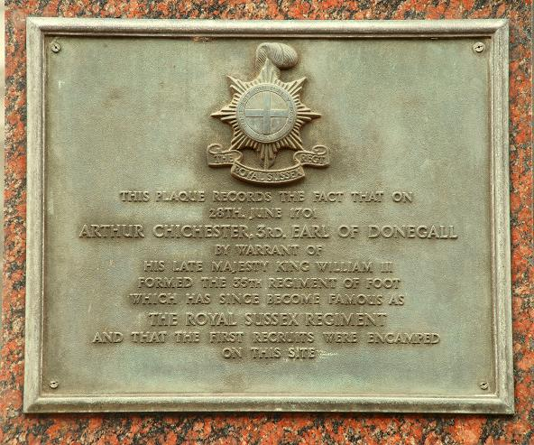 Military plaque, Belfast