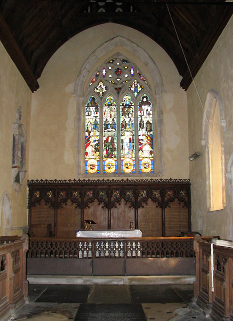 St Peter's church - chancel