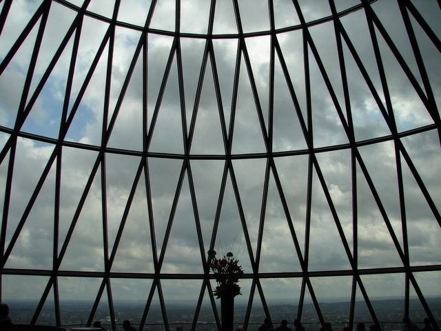 Top of the Gherkin