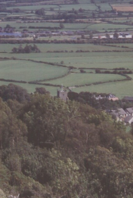 Warton Church from Warton Crag