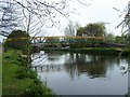 SK2003 : Footbridge Over River Tame, Tamworth by Geoff Pick