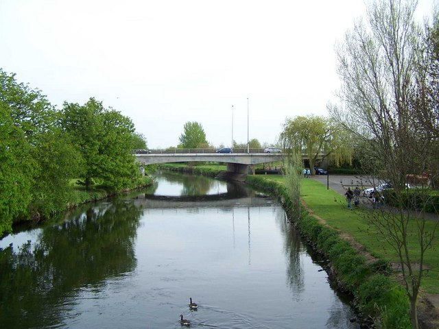Road Bridge Over River Tame, Tamworth