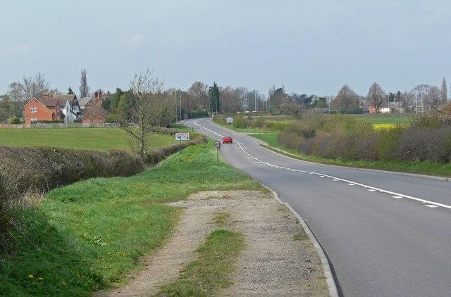 A606 Burton Road towards Melton Mowbray