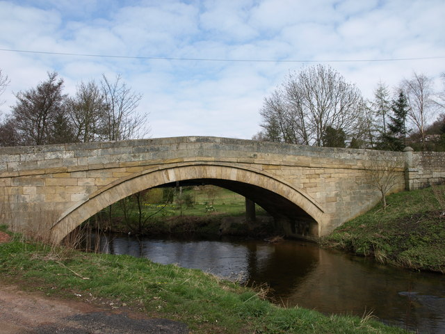 Bridge over Wreigh Burn, Thropton