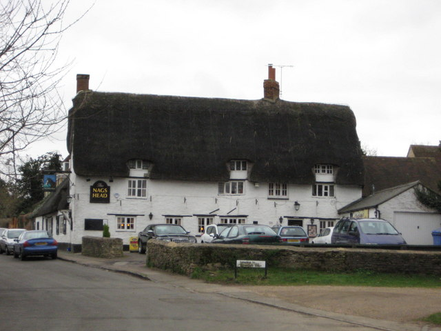 The Nags Head, Great Linford village