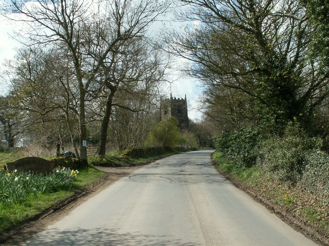 Entering High Hoyland from Church Lane
