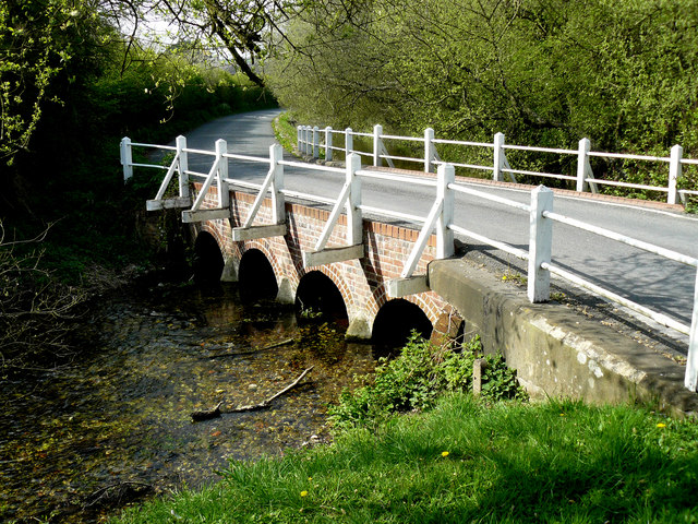 Idmiston - Bridge Over The River Bourne