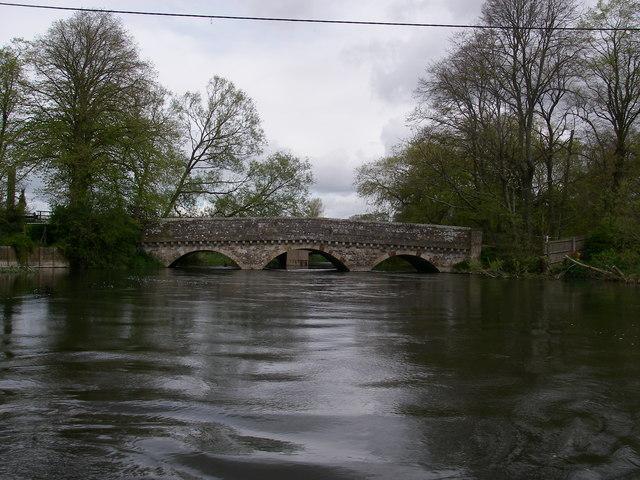 Old Bridge over the Avon at Ringwood