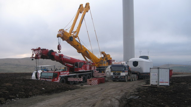 Construction Site of Turbine No 5