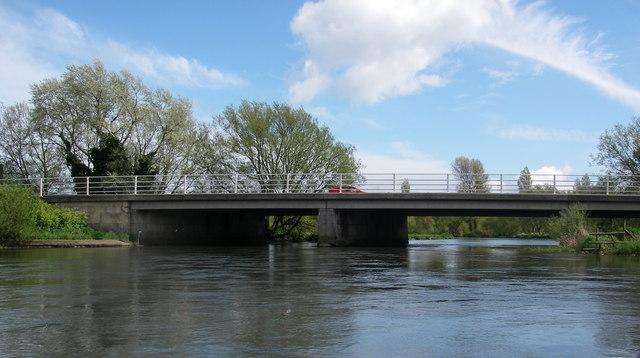 A35 bridge over the river Avon