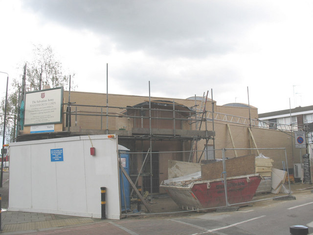 Salvation Army hall (under construction)