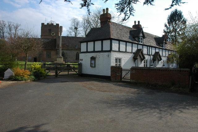 Entrance to Hanley Castle Church