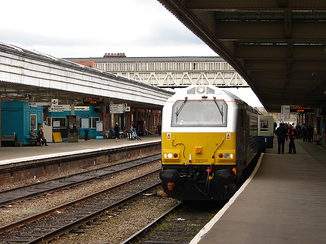 Wrexham and Shropshire Railway train at Shrewsbury
