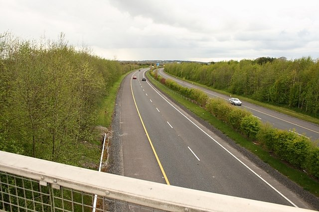 Motorway from Bridge